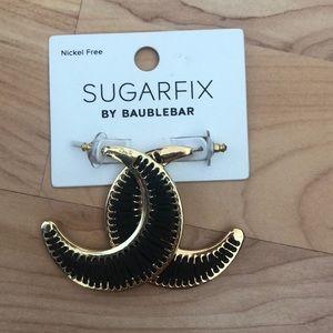SUGARFIX BY BAUBLEBAR HALF MOON EARRINGS